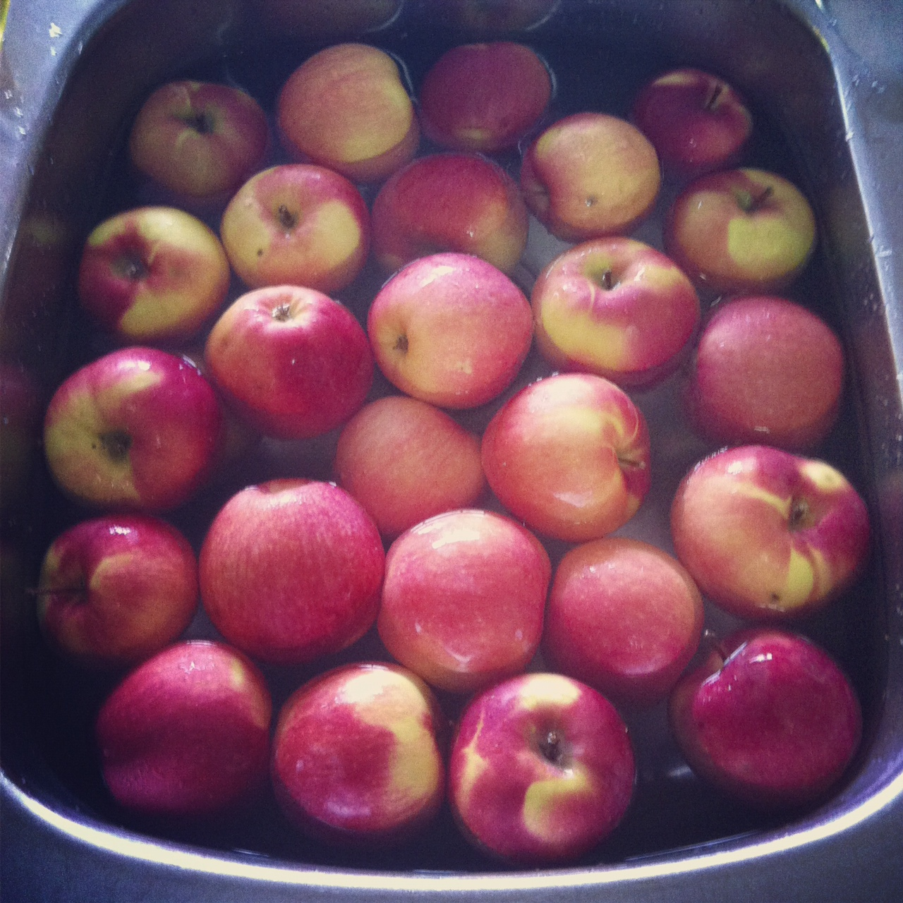 No Peel Crock Pot Apple Sauce from SewCreativeBlog.com