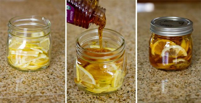 Lemon Honey Sore Throat Remedy