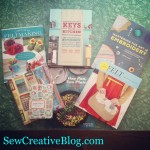 Books from Raincoast Books for Sew Creative Blog