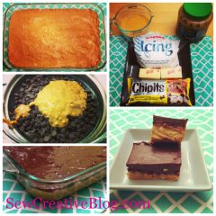 10 Minute No Bake Chocolate Peanut Butter Bar Recipe Tastes Just Like Reese's Peanut Butter Cups