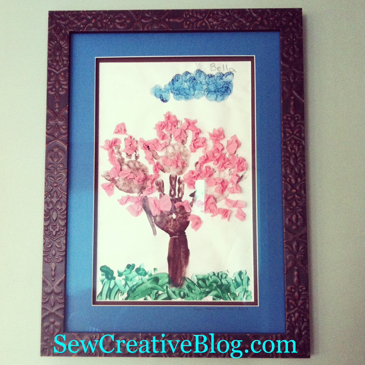 Handprint Cherry Tree Perfect For Spring