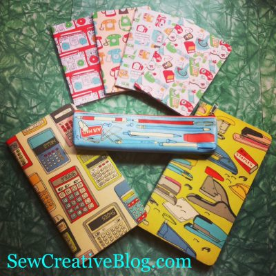 Julia Rothman Retro Notebooks and Pencil Pouch Giveaway