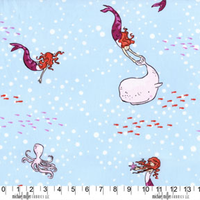 Mermaid Play Breeze by Sarah Jane