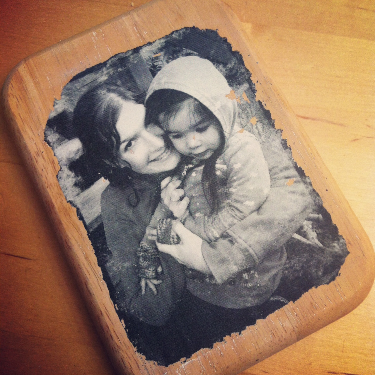 photo to wood transfer tutorial with step by step photos