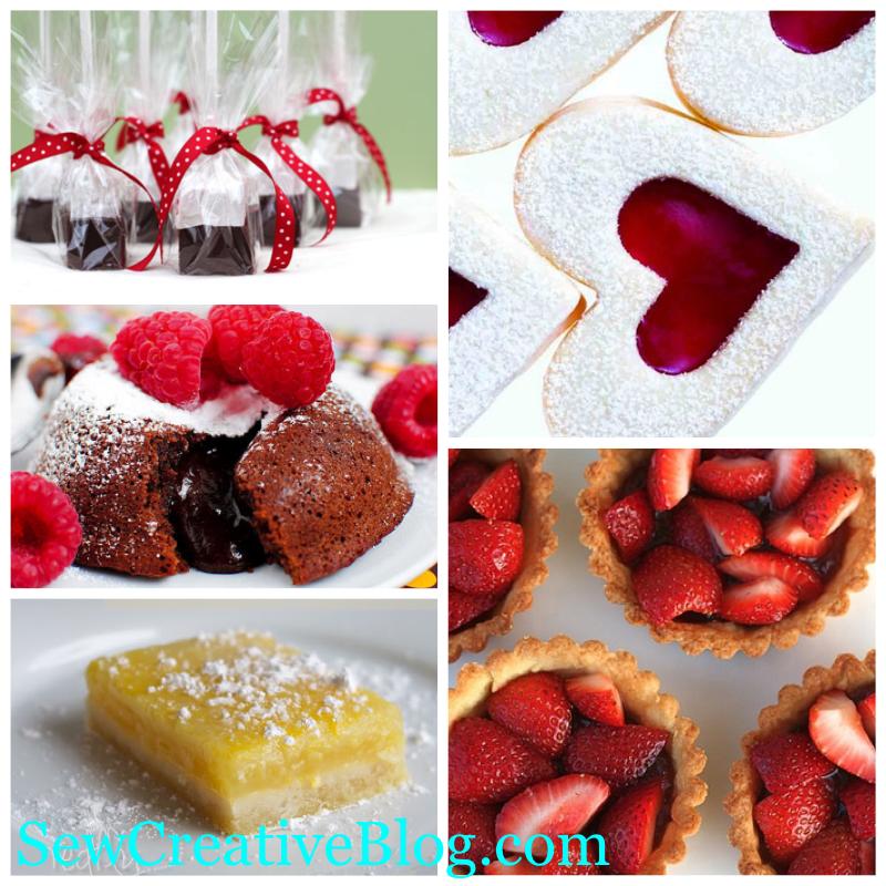 Sew Creative Blog 5 Valentines Day Desserts