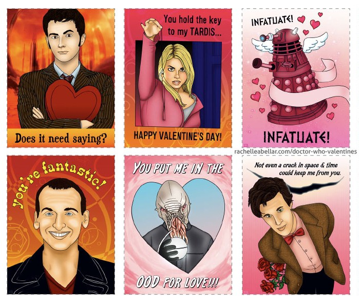 Doctor Who Valentines Day Card Printable