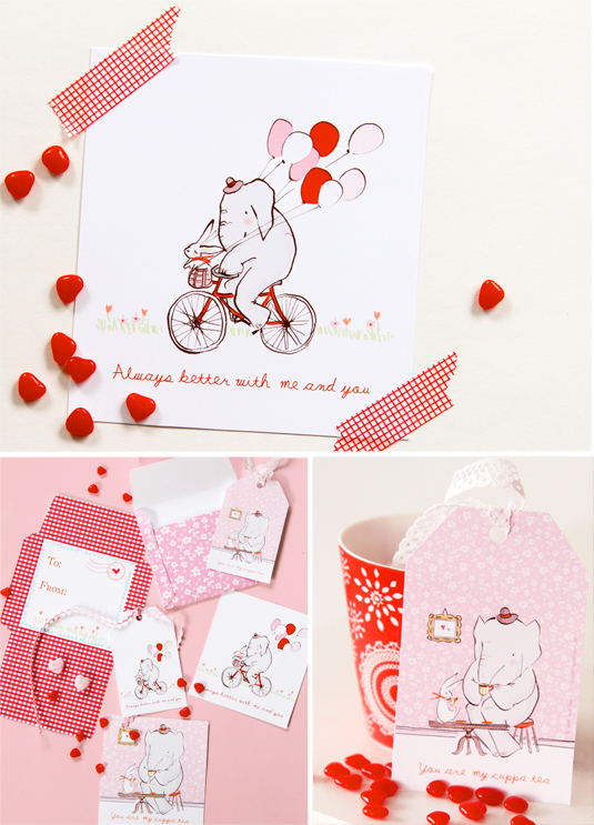 sarah jane valentines day card printable