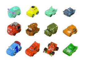 Cars squinkies