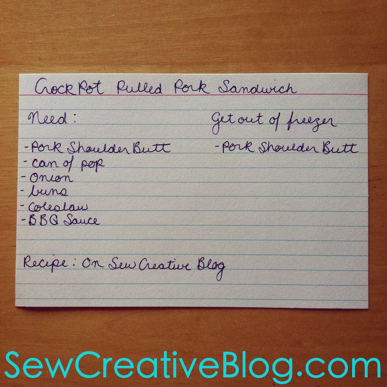 Crockpot Soda Pop Pulled Pork Sandwich Recipe from Sew Creative