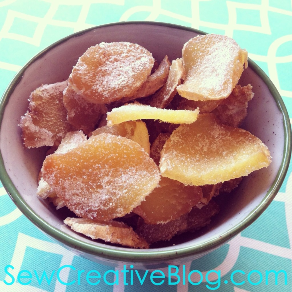 Crystallized Ginger Recipe Perfect Sore Throat Remedy or for baking 2