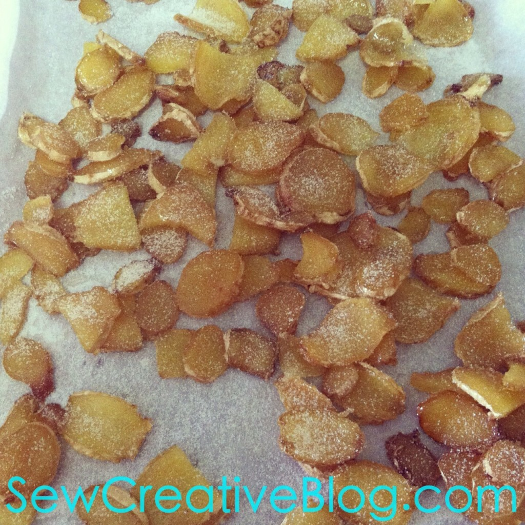Crystallized Ginger Recipe Perfect Sore Throat Remedy or for baking 5