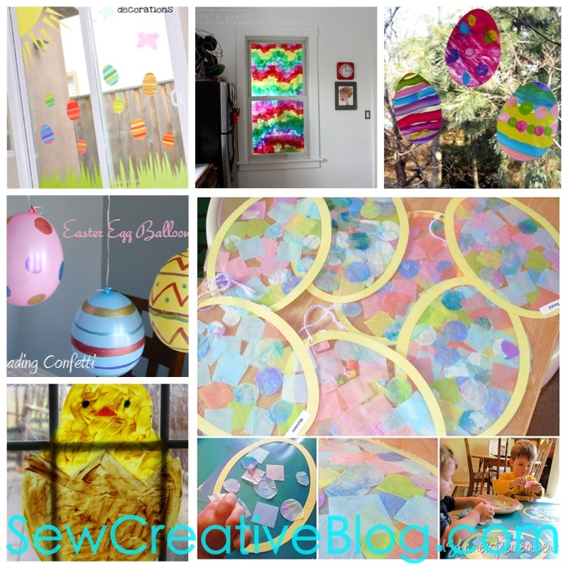 Easter Window Decoration Projects To Do With Kids