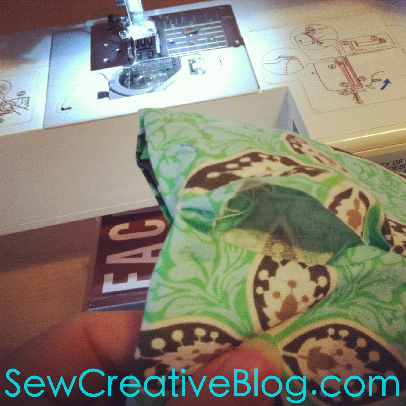 Infinity Scarf Tutorial From Sew Creative Blog Step 11