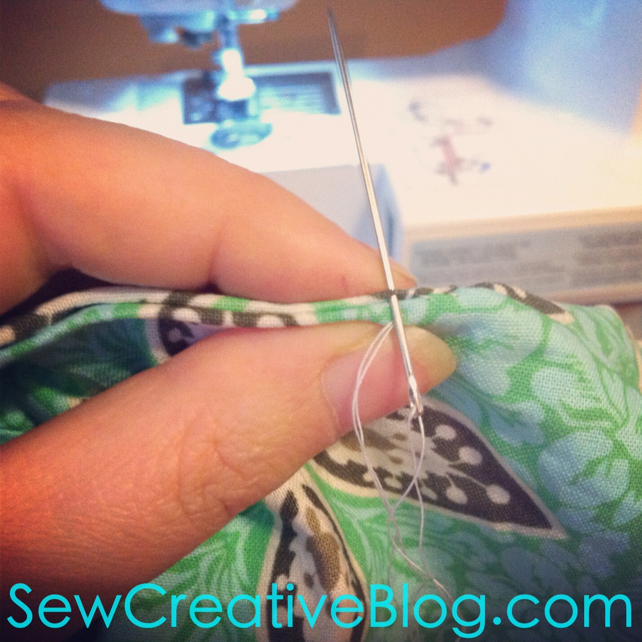 Infinity Scarf Tutorial From Sew Creative Blog Step 14
