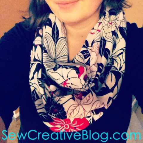 Tutorial- How To Sew An Infinity Scarf 30 Minute Project ...