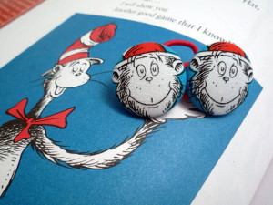 Lilikoi Lane Cat In the Hat Ponytail Holders from Lilikoi Lane
