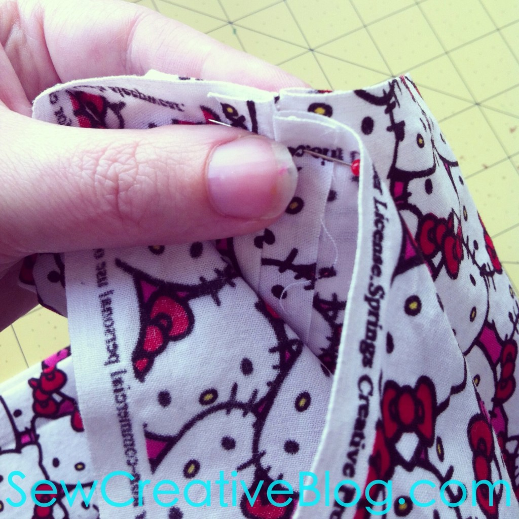 10 Minute Children's Infinity Scarf Sewing Tutorial and Pattern 1