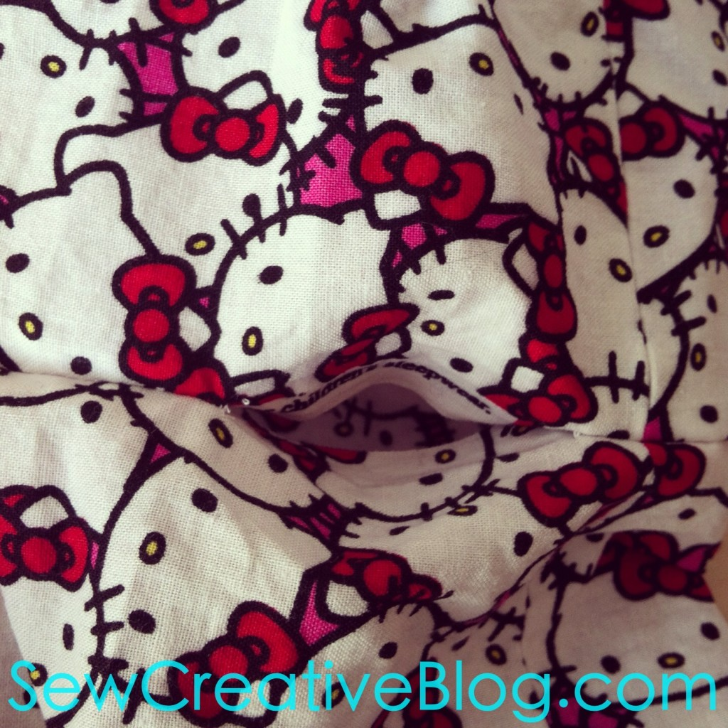 10 Minute Children's Infinity Scarf Sewing Tutorial and Pattern 11