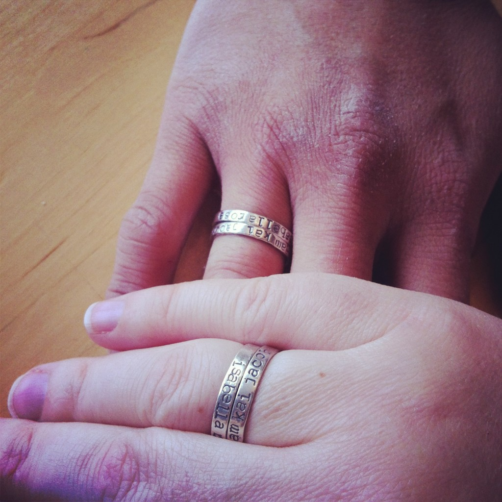 Family Keepsake Rings from Moo and Bear