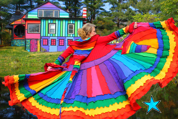 Katwise Rainbow Coat