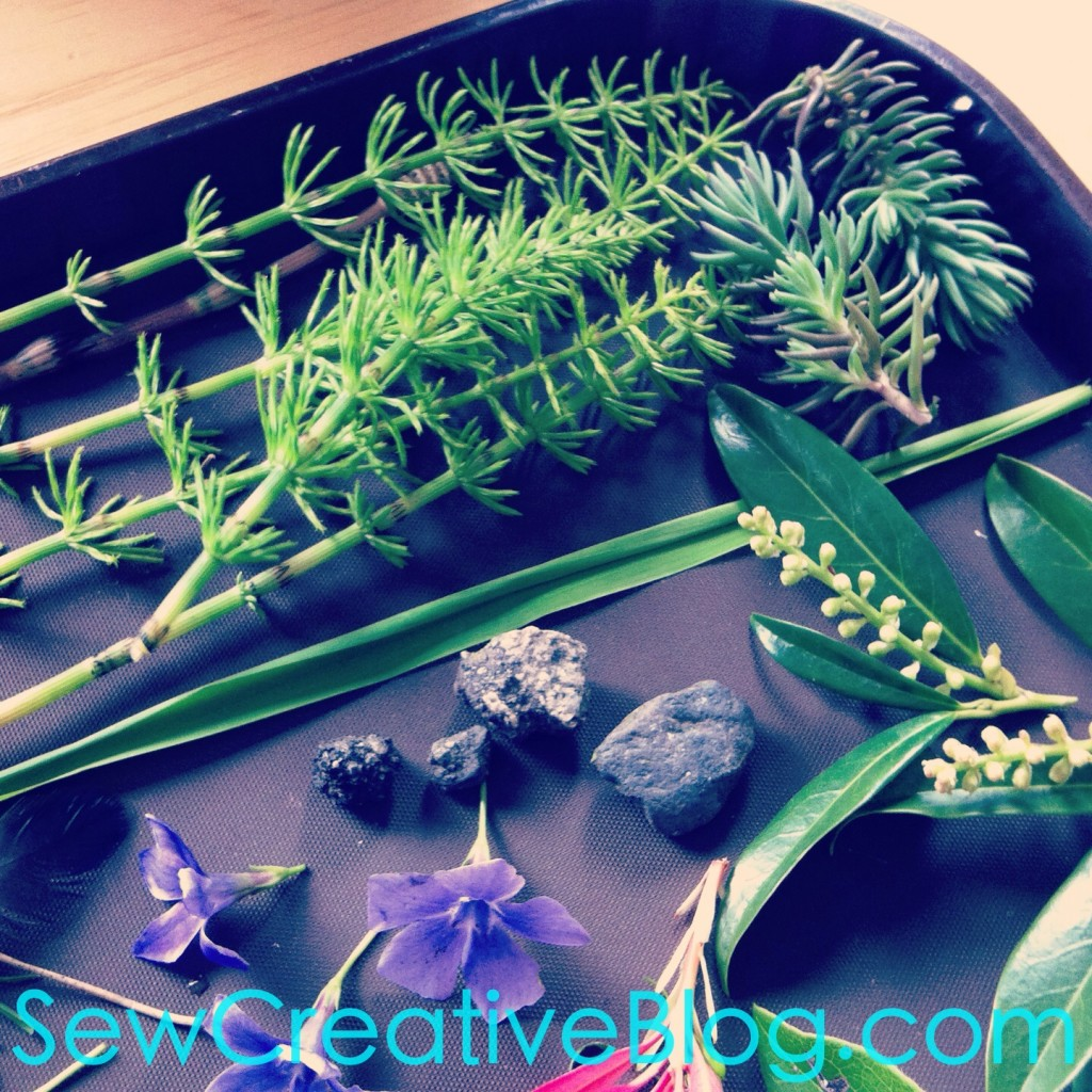Kids Nature Walk and Found Object Collage Project Perfect For Earth Day 3