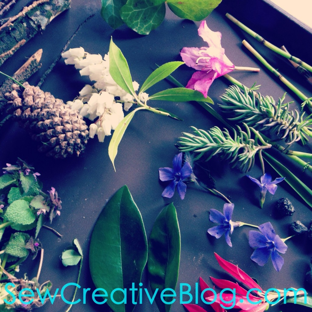 Kids Nature Walk and Found Object Collage Project Perfect For Earth Day 5