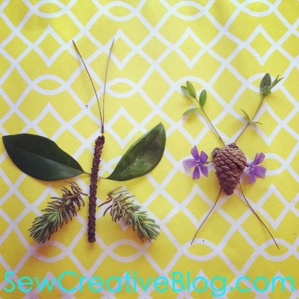 Kids Nature Walk and Found Object Collage Project Perfect For Earth Day 6