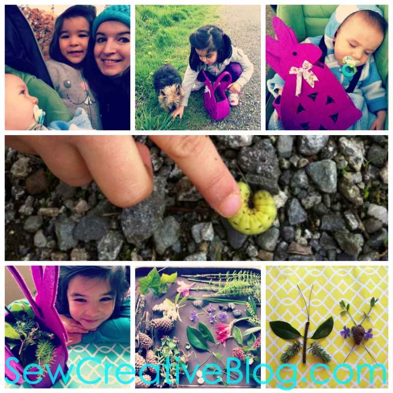 Kids Nature Walk and Found Object Collage Project Perfect For Earth Day 7