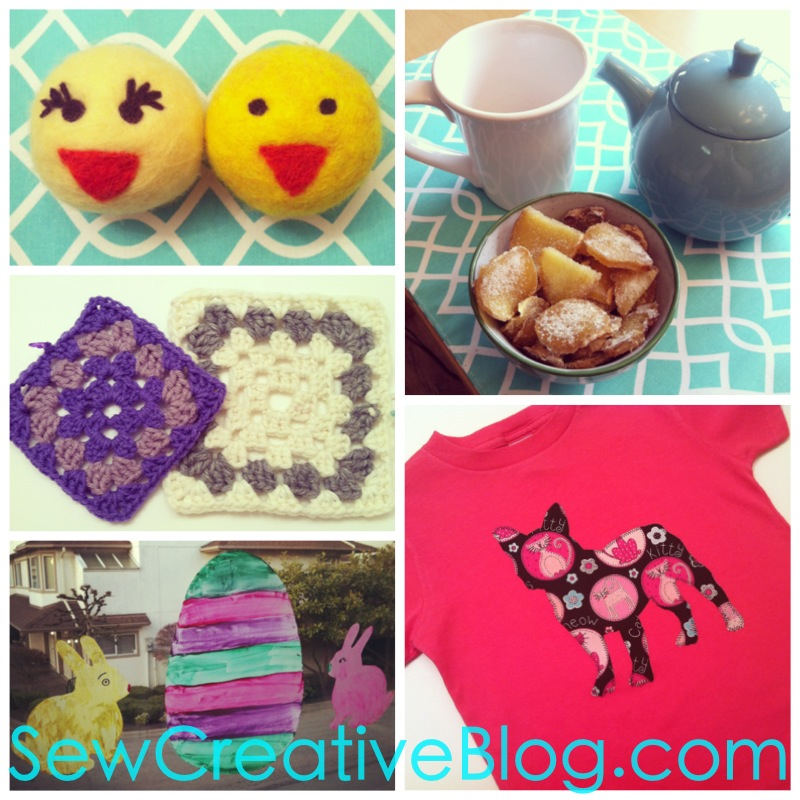 My week in craft at Sew Creative
