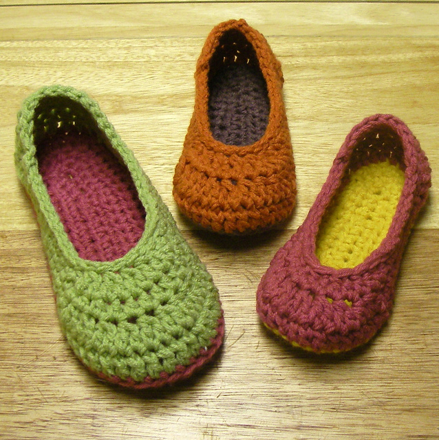 Oma House Slippers Pattern