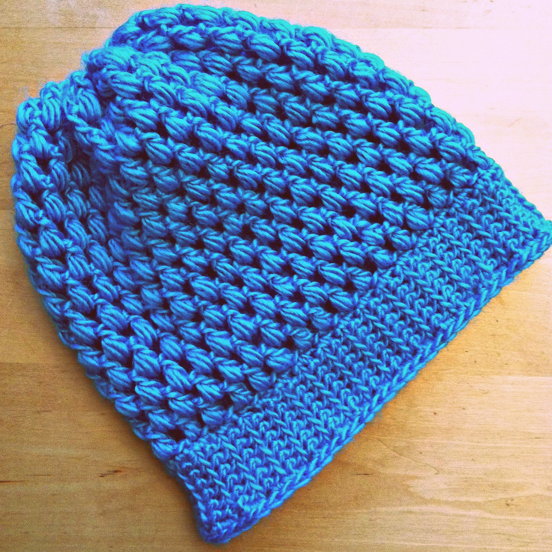 How To Crochet A Beanie Tutorial Beginner Friendly : Sew Creative Crocheted Kids Slouch Hat Pattern- Great for ...