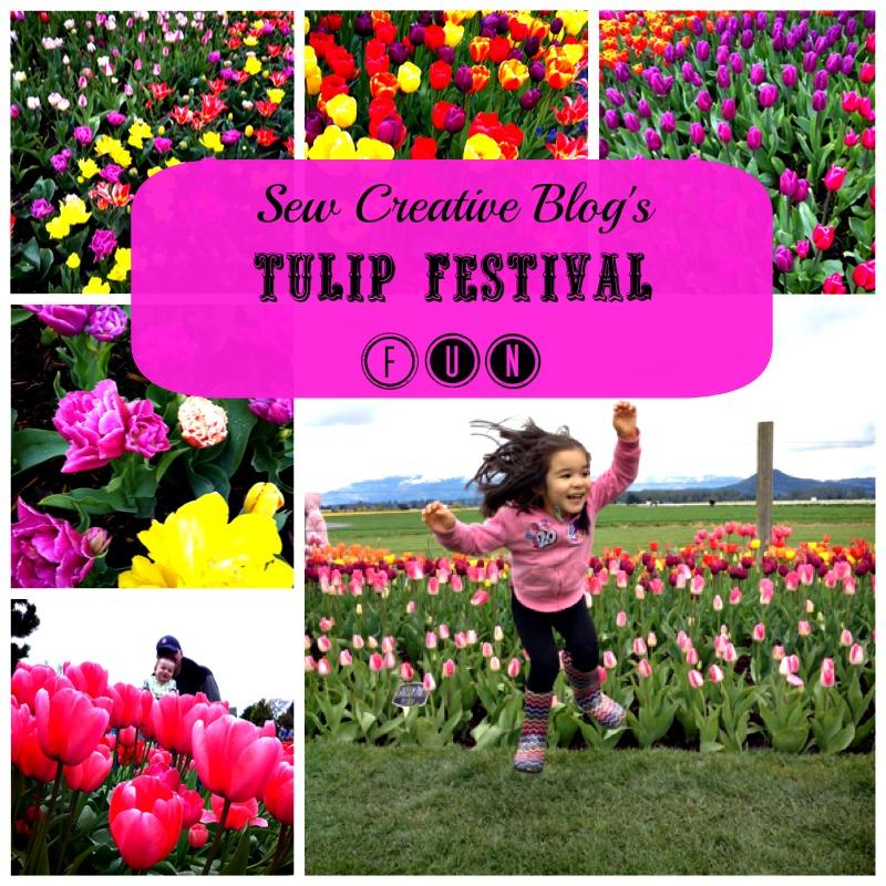 Sew Creative Tulip Festival Fun 1