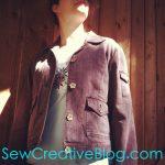 Thrift Store Find Re-invented jacket denim