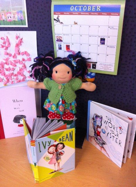 Kailani a Puddlefoot Doll with a Maizy Moo Sweater