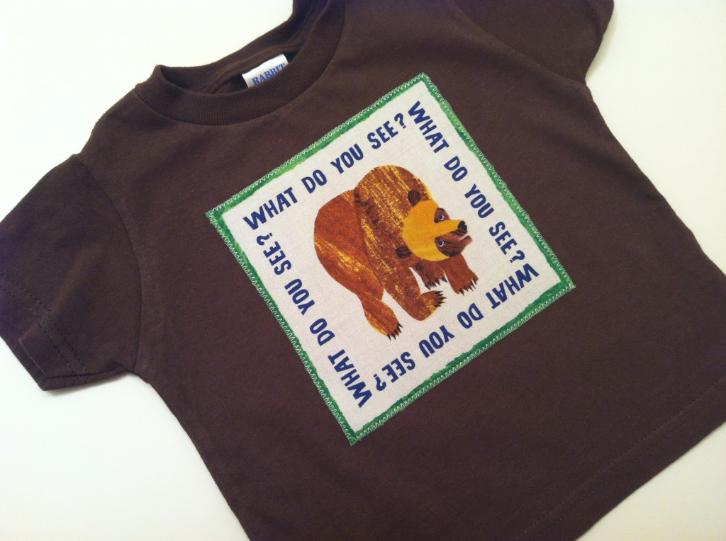 Lilikoi Lane Brown Bear Brown Bear What Do You See Eric Carle Shirt