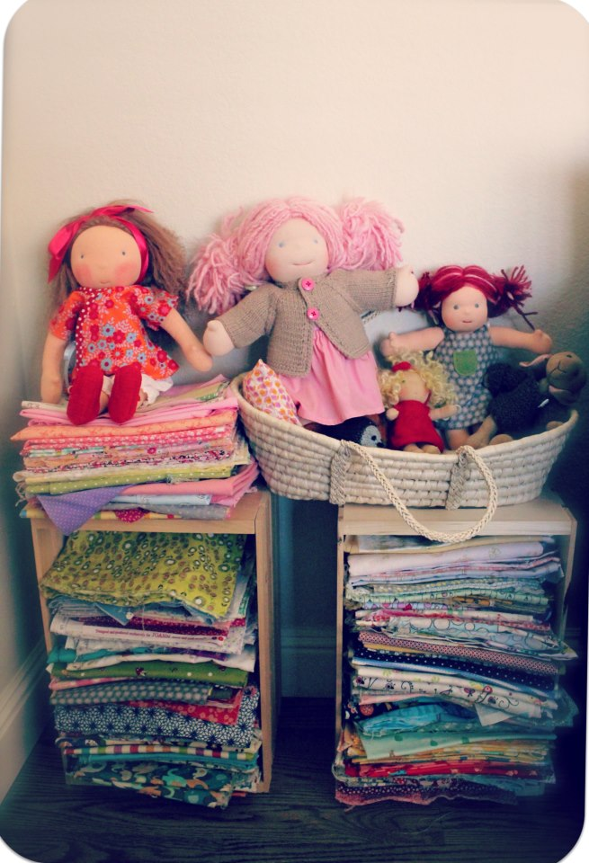 Maizy Moo Fabric