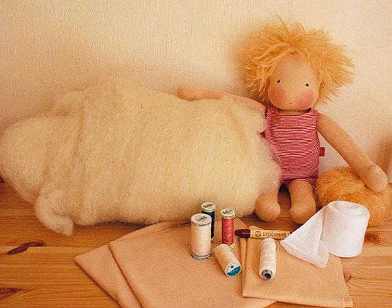 Mitzi Doll Making Kit from Mariengold Dolls