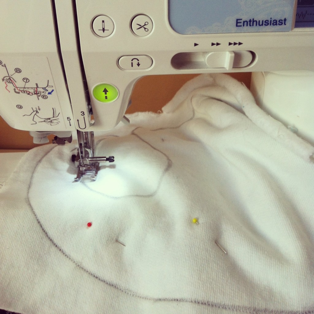 Sew Creative's 15 Minute Baby Bib Sewing Tutorial 2