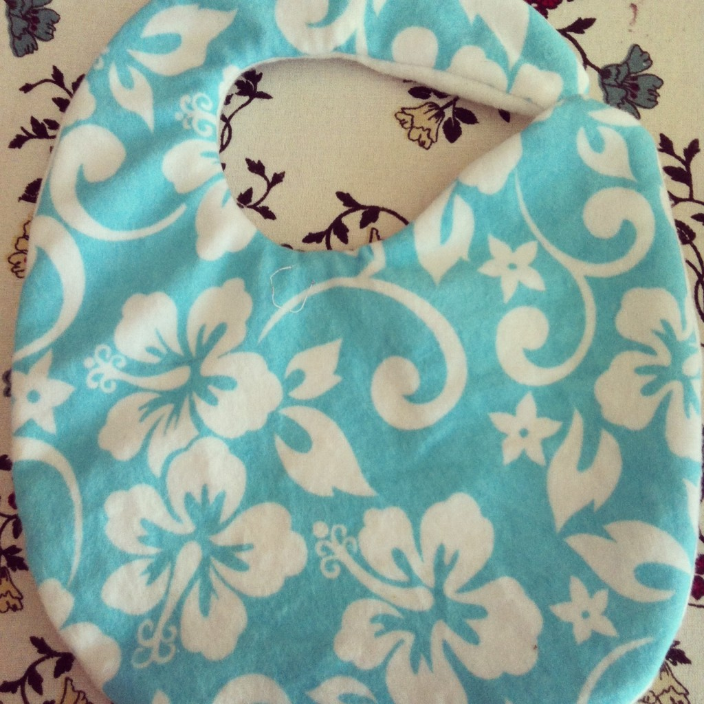 Sew Creative's 15 Minute Baby Bib Sewing Tutorial 5