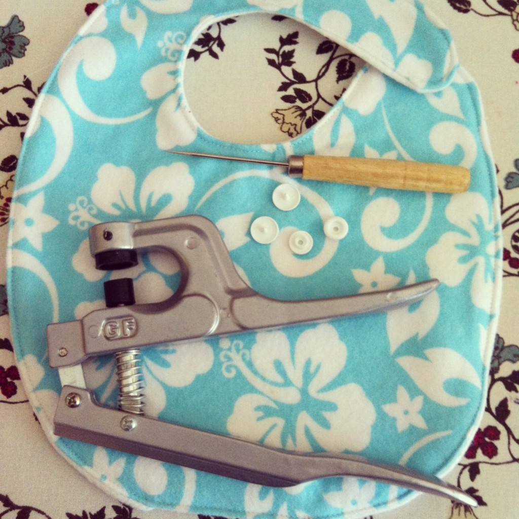 Sew Creative's 15 Minute Baby Bib Sewing Tutorial 6