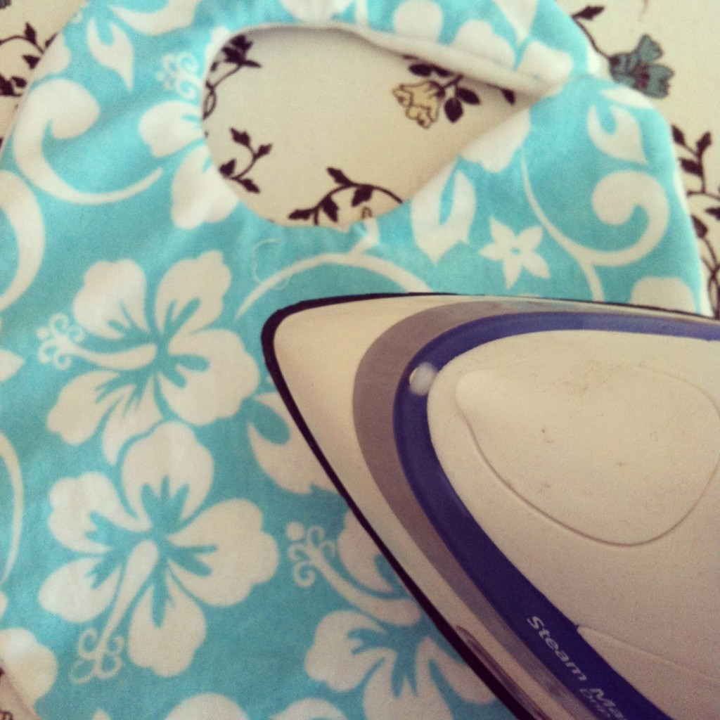 Sew Creative's 15 Minute Baby Bib Sewing Tutorial 7
