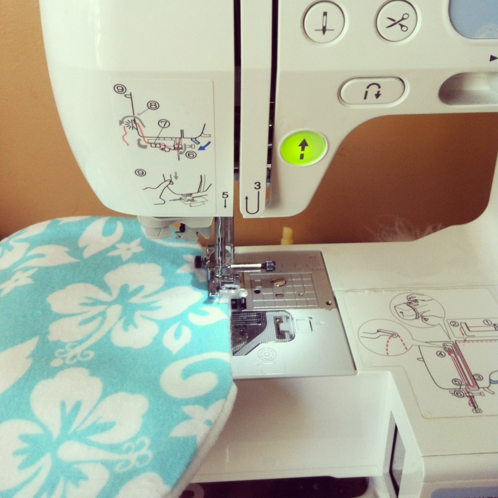 Sew Creative's 15 Minute Baby Bib Sewing Tutorial 8