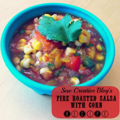 Fire Roasted Salsa With Corn Recipe