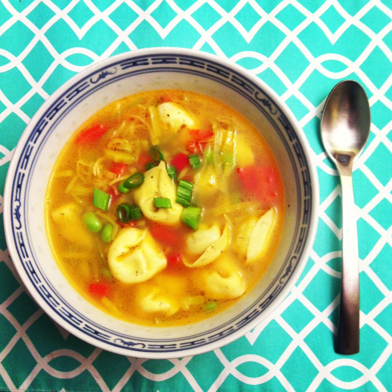 Tortellin soup