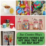 Fantastic Father's Day Craft and DIY Gift Ideas that kids can help make