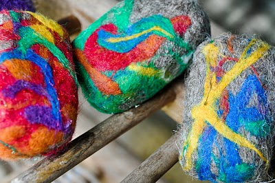 Felted soap is a great kids craft project that results in a fabulous father's day gift