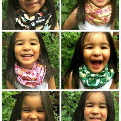 I Make Stuff- Handmade Kids Infinity Scarves