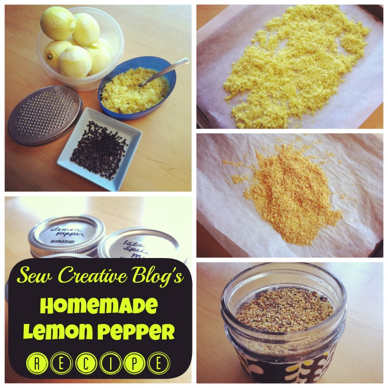 Homemade Lemon Pepper BBQ Grill Spice Rub Recipe