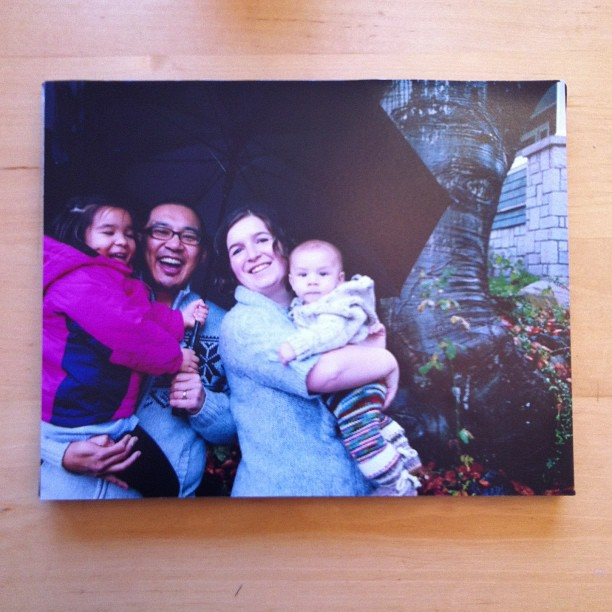 Mounting photo to canvas tutorial A great handmade gift for under $5.00 13