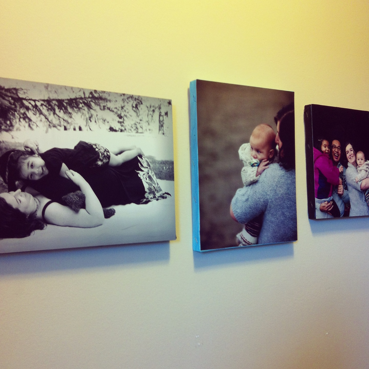 Mounting photo to canvas tutorial A great handmade gift for under $5.00 2